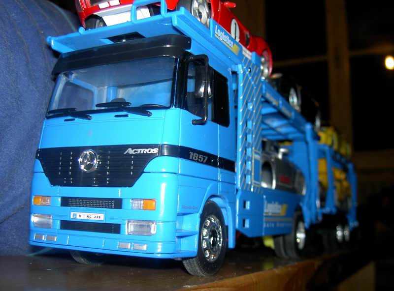Kyosho Mini Z] Transformation d'une Mini Z en camion porte auto. 20